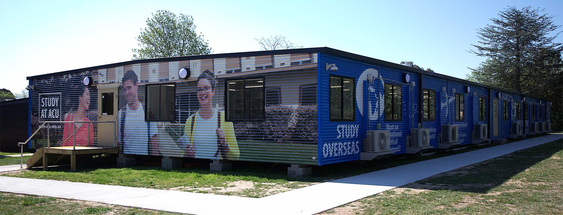 ACU Interim Library Facility, Antill St, Canberra