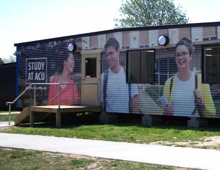 ACU Interim Library Facility, Antill St, Watson ACT